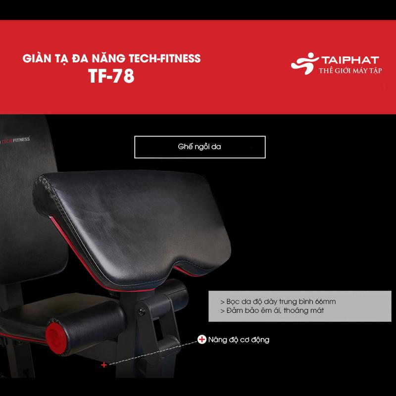 Giàn tạ đa năng Tech Fitness TF-78