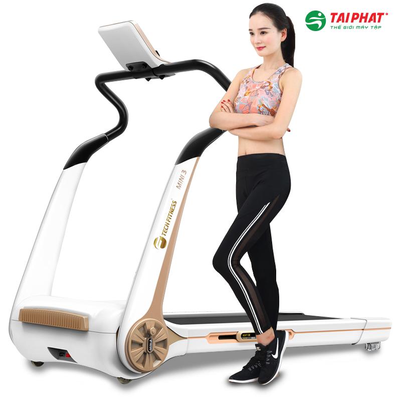 Máy chạy bộ điện Tech Fitness Mini 3