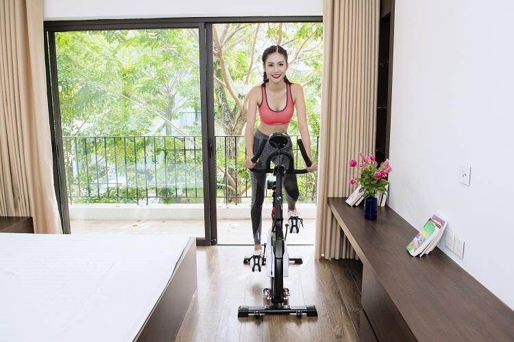Kiểu dáng hiện đại, thiết kế đạt chuẩn chất lượng phòng Gym.