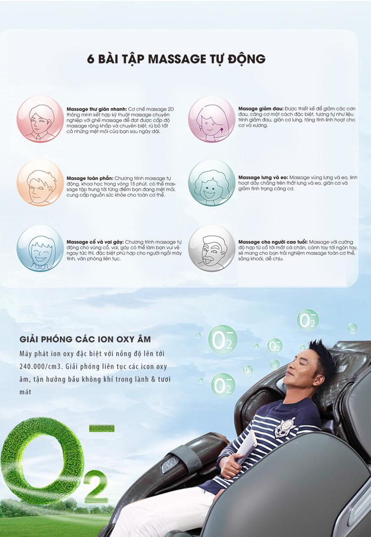Máy phát Ion Oxy đặc biệt giúp thanh lọc không khí cung cấp ion oxy tốt cho cơ thể.