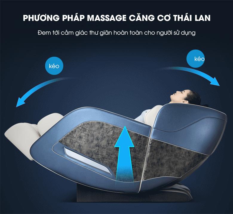 Ngay tại nhà bạn có thể tận hưởng phương pháp massage căng cơ của Thái Lan một cách chân thật nhất.
