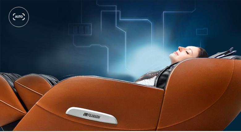 Tính năng tự động quét định dạng cơ thể giúp điều chỉnh ghế ngồi phù hợp với thể trạng người dùng.