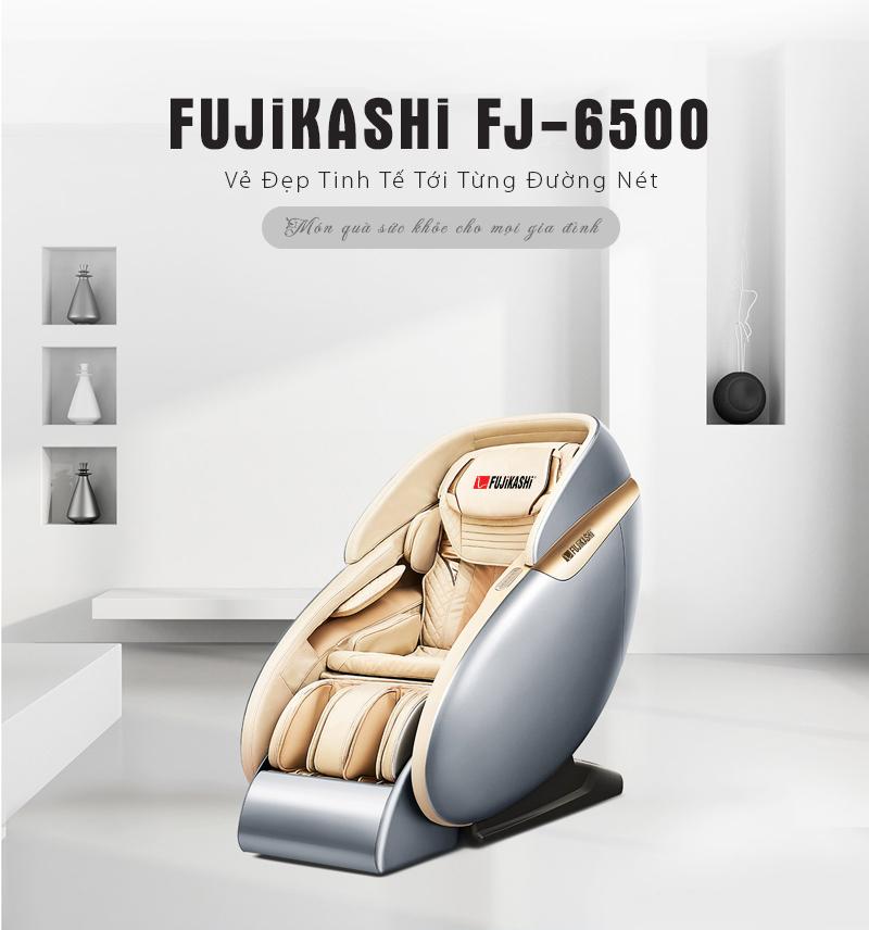 Ghế massage toàn thân Fujikashi FJ- cho cuộc sống trọn niềm vui.
