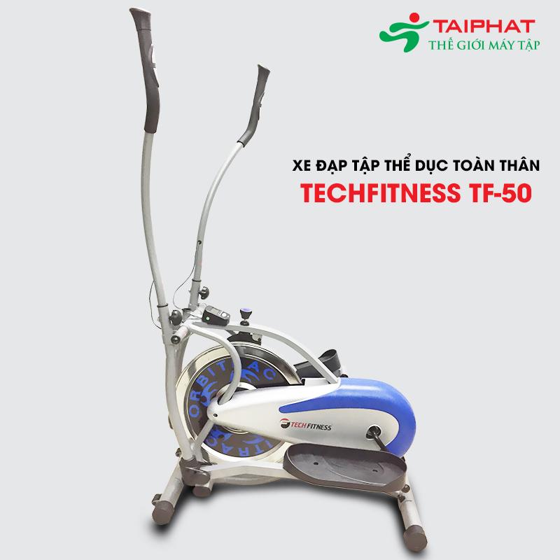 Hình ảnh xe đạp tập thể dục toàn thân Tech Fitnes TF-50